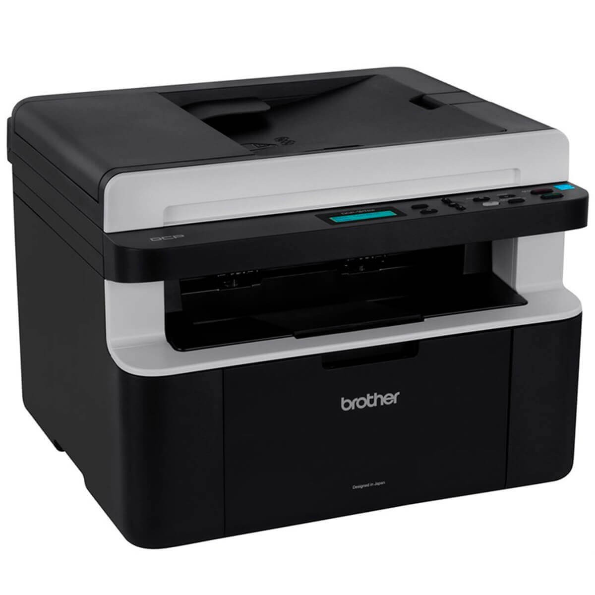 Impressora Brother Multifuncional Brother DCP1617NW 21PPM/CM 10.000 Rede Wirelles
